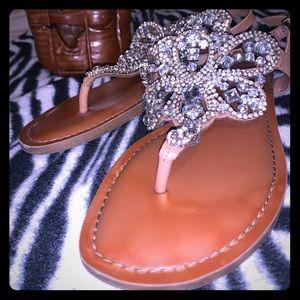 Embellished Gianni Bini Sandals